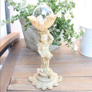 Vintage resin guardian angel